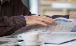 kranten lezen