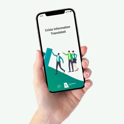 Nieuwe app met meertalige corona-info